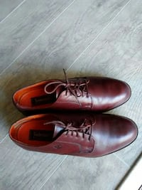Timberland Men's Brown Leather Shoes Size 9.5 M Melbourne, 32940