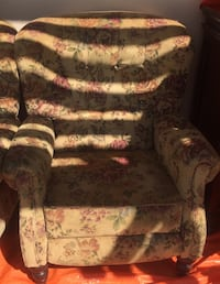 Two Matching recliner chairs  Las Vegas, 89107