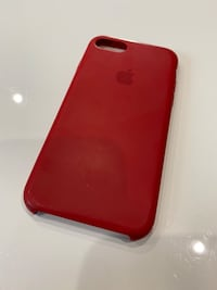 PreOwned Apple iPhone8 Case - Red Silicone
