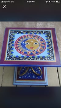 Hand painted end table Westerville, 43081