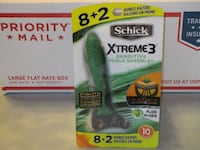 BRAND NEW Schick Xtreme 3 Sensitive 10 pack Razors