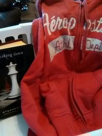 red and white Aeropostale zip-up hoodie Ammon, 83406
