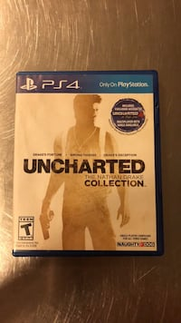 uncharted ps4 game comes with1,2, and 3 San Jose, 95117