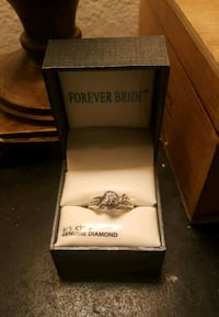 Sterling and diamond engagement ring Fort Smith, 72908