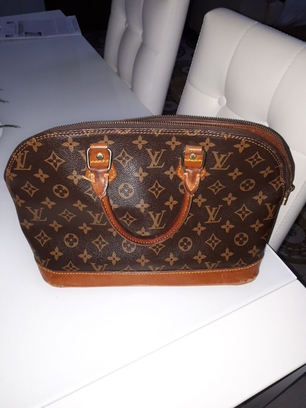 077ca0c7cd Borsa a tracolla in tela Louis Vuitton Monogram usagé à vendre à ...