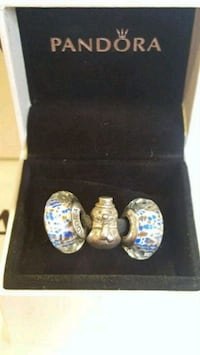 3 Authentic Pandora Charms Toronto