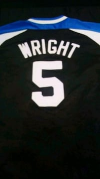 Mets David Wright Batting Shirt