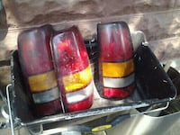 3 tail light covers  I know they fit 02 silverados 10 each