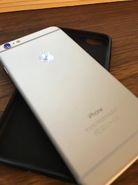 silver iPhone 6 with black case Grand Prairie, 76011