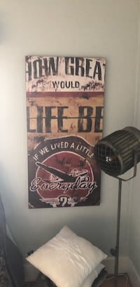 Urban barn - wooden wall art 3751 km