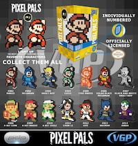 Pixel Pals Collectables 557 km