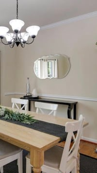 Black long buffet table/sofa table  Germantown, 20874