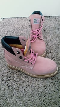 Pink SafetyGirl Boots Omaha, 68106