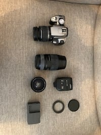 Canon EOS Digital Rebel XT. DSLR with 18-58mm Lens!