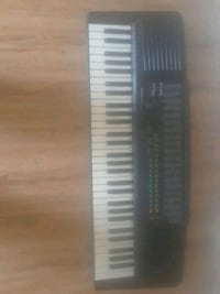black and white electronic keyboard Los Angeles, 90037