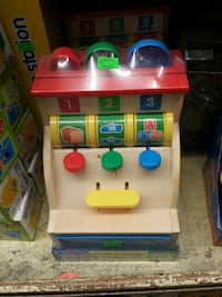 toddler's brown, red, blue, and yellow learning cash register New York, 11211