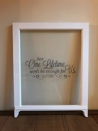 Vintage Window with Quote