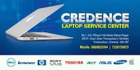 We provide sales and repair services of laptops