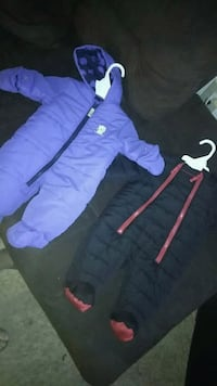 One blue the other black and red infant coats Springfield, 01118