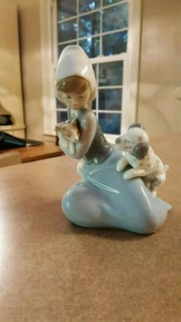 "Lladro Figurine ""Little Friskies"" Rare and Retired"