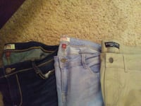 Size 13 pants. $10 for all! Colorado Springs, 80917