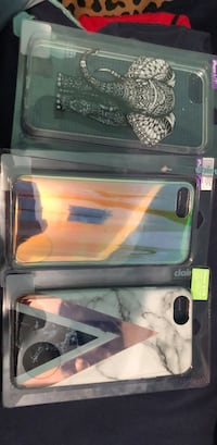 three assorted iPhone cases boxes Waco, 76706