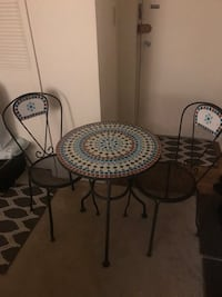 Cast iron patio set Arlington, 22204