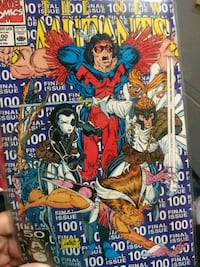 The new Mutants comic book #100