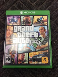 XBox One Game: Grand Theft Auto 5  Humble, 77396