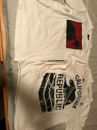 two white printed t-shirts Powell, 37849