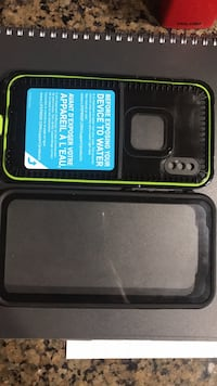 black and green smartphone case with box College Station, 77845