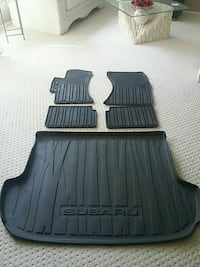 All weather floor mats for Subaru Forester