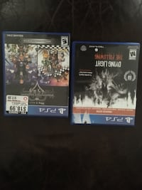 two Sony PS4 game cases Dos Palos, 93620