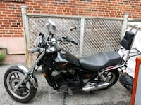 black and gray cruiser motorcycle Toronto, M6N 2P8