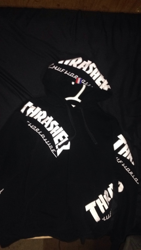 55c9ec4381d9 Used Thrasher huf worldwide hoodie for sale in Langley - letgo