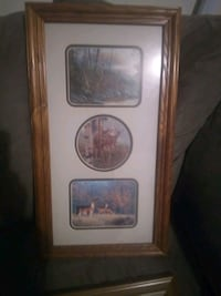 white and brown wooden framed wall decor Wichita, 67212