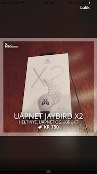 Jaybird X2 Bluetooth ørepropper  Vettre, 1392