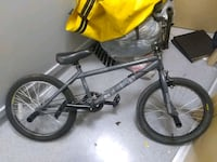 black and gray BMX bike 3749 km