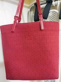 women's red leather tote bag Tucson, 85705