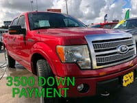 2012 - Ford - F-150 with 3500 of down payment  Houston
