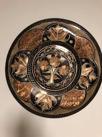 Copper plate  decoration from Egept