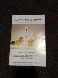 Electro-power mixer. new in box