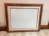 Professional Wood Picture Frame with Matte