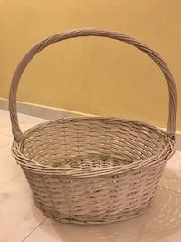 White Hamper Basket (L) Hougang, 530971