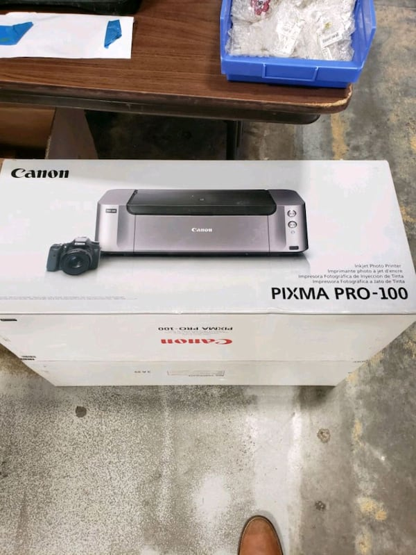 Cannon pixma pro camera + printer  a821b11c-1047-4504-b5c9-5591719dc87a