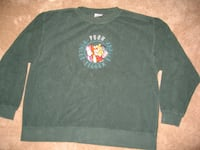 Winnie The Pooh Green Pullover Sweat Shirt Toronto