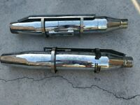 two stainless steel exhaust pipes Davie, 33314