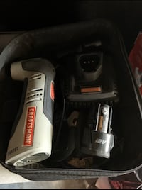 CRAFTSMAN MULTI TOOL LITHIUM ION BATTERY/CHARGER/CASE/ACCESSORIES
