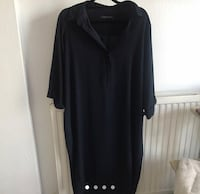 black v-neck long sleeve dress London, SE27 0BJ