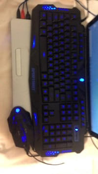 black and blue computer keyboard Lawrenceville, 30045